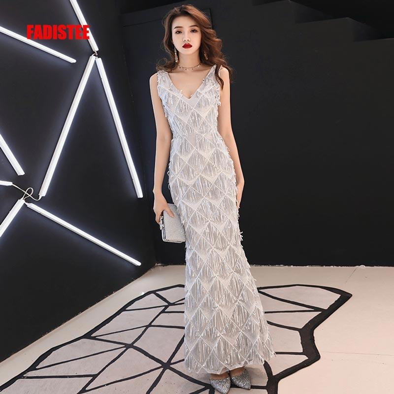 FADISTEE New arrival evening elegant prom dresses Vestido de Festa gown  Robe De Soiree glitter sequins 734f3497becb