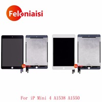5Pcs/lot DHL 7.9 For Apple Ipad Mini 4 A1538 A1550 Full Lcd Display With Touch Screen Digitizer Panel Assembly Complete
