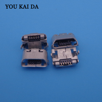 50pcs/lot micro mini USB Jack charging port socket connector For Meizu MX4 MX 4 Repair Spare Parts replacement dock plug 5pin