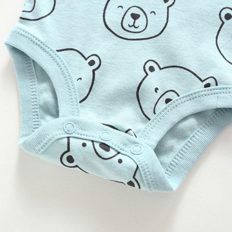 XINI MAMA Baumwolle neugeborenen body neue geboren kostüm Neugeborenen ballen furz bekleidungs 4 teile//beutel