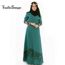 M-2XL Islamic Abaya Dresses Women Arab Ladies Caftan Kaftan Malaysia Abayas Dubai Turkish Ladies Clothing Women Muslim Dresses