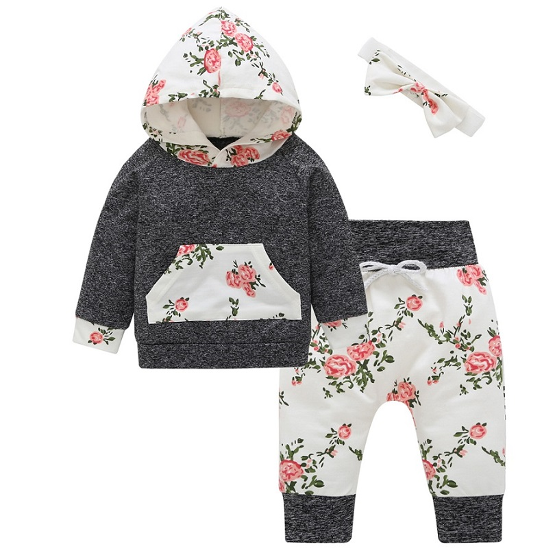 Reasonable 2pcs Newborn Toddler Infant Baby Girl Clothes Long Sleeve Floral T-shirt Tops Pants Outfits Set Mother & Kids