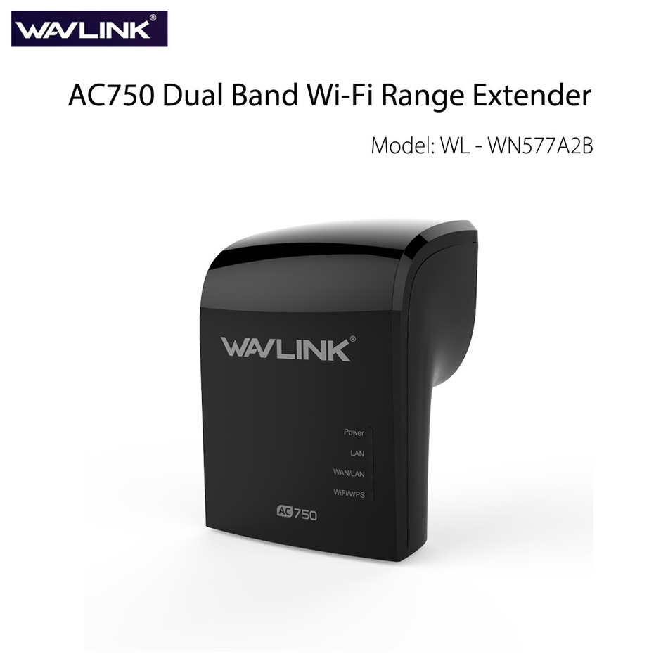 Prix pour Wavlink AC750 WiFi Range Extender Répéteur Bi-bande (2.4 GHz 150 Mbps + 5 GHz 433 Mbps) Booster Amplificateur de Signal