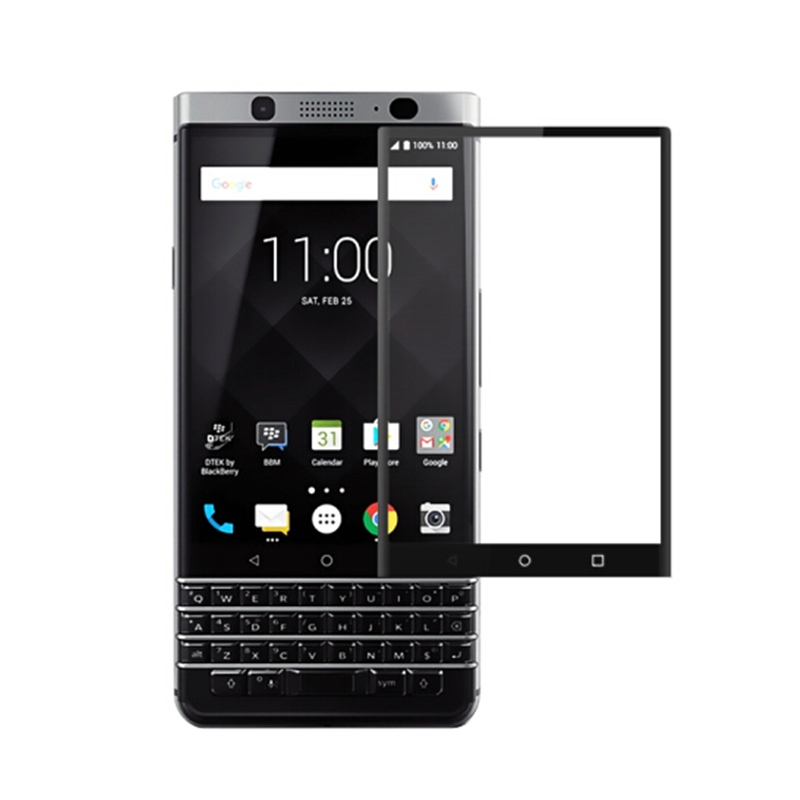 Full Cover Tempered Glass For BlackBerry keyone keytwo key one 2 two Key2 Lite LE K1 K2 DTEK70 keytwoLite Screen Protector Film(China)