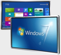 84 98 Inch TFT Led LCD Full HD Touch Interactive Panel Display Tv Computer All In