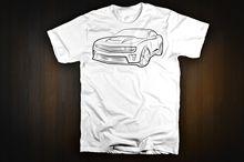 100% Cotton Straight O Neck Short Sleeve Tee Shirt Homme Tshirt Men Funny Gen 5 New Camaro Custom Made T Shirts