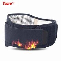 Tcare ceinture de taille Tourmaline de soins de santé auto-chauffant thérapie magnétique soutien lombaire taille dos bretelles ceintures pour bureau