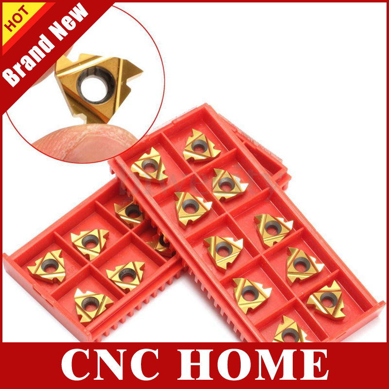 Free Shipping 16IR 16NR A60 Internal Indexable Tungsten Carbide Threading Lathe Inserts for SNR SIR Threaded