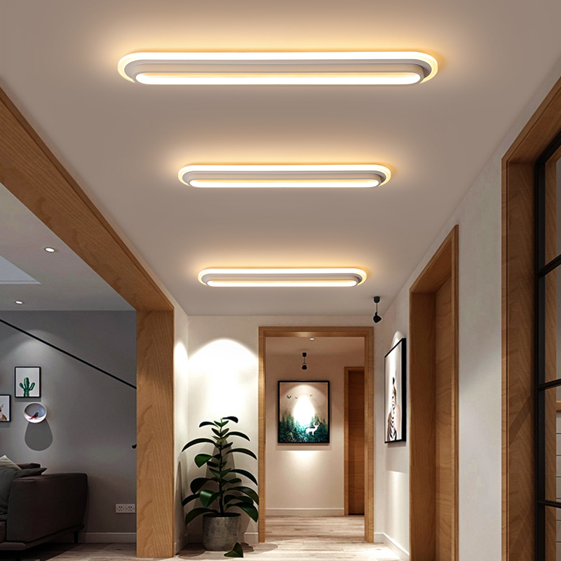 Ceiling Lights Reliable Long Strip Light Modern Led Ceiling Lights For Living Room Bedroom Balcony Aisle Corridor Acrylic Home Lighting Ceiling Lamp Ceiling Lights & Fans