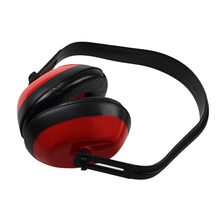MOOL Soft Foam Ear Muff Hearing Protection For Shooting Hunting Loud Noise Reduction Red