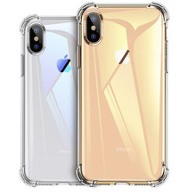 Original transparent shockproof silicone phone case for iPhone X XS Max XR soft TPU 7 8 6 6s Plus