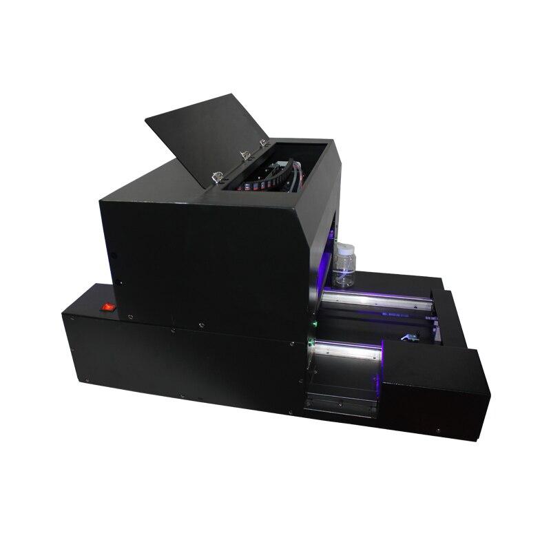 A3 taille UV lampe à led imprimante à plat pour stylo, coque de téléphone, verre, métal, céramique etc impression - 5
