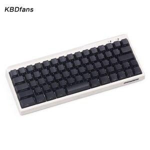Image 5 - Black PBT blank white gray mechanical keyboard filco minila air thick PBT white side print keycap cherry mx OEM blac 3u sapcebar
