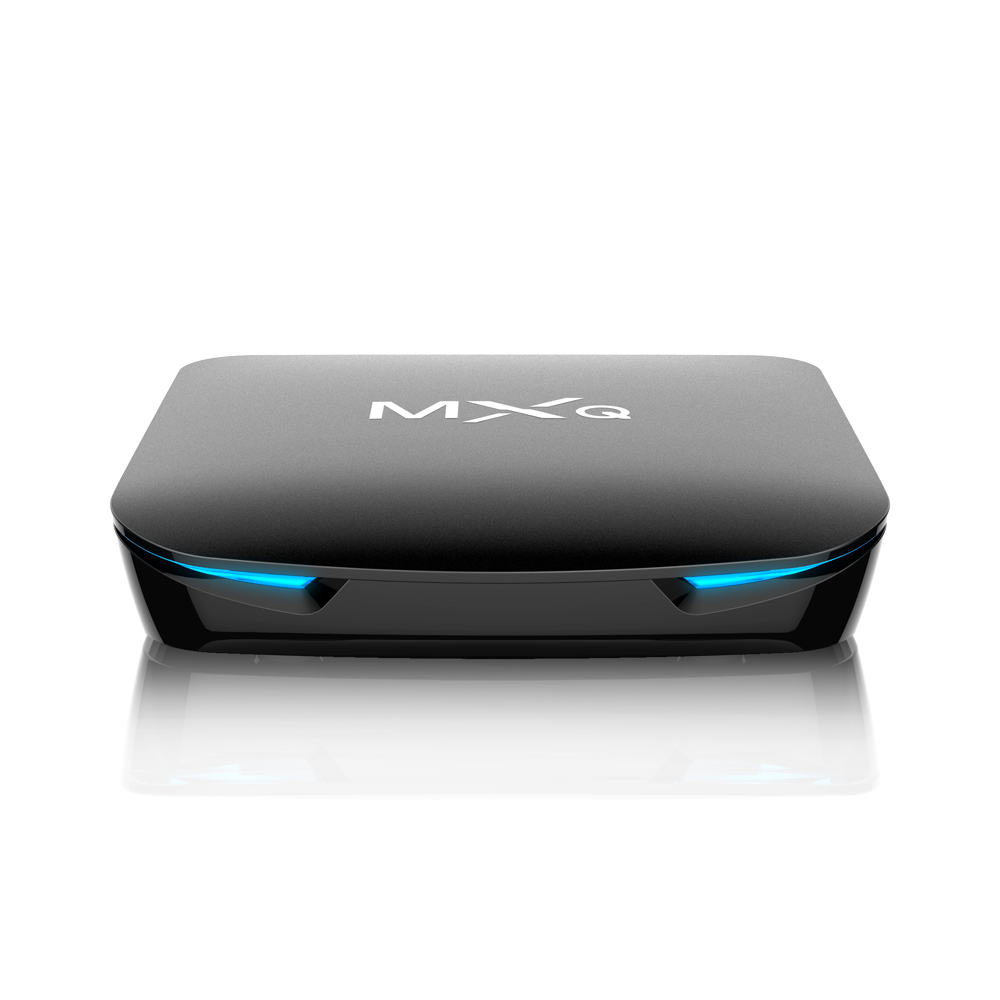 MXQ 50 teile/los MXQ G12 mini tv box S905X2 Amlogic 4 + 32G für Android 8.1 wifi 2T2R set top box