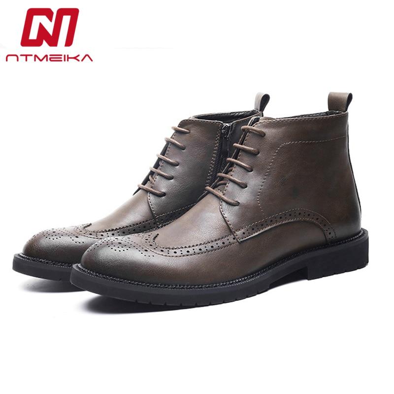 Новое поступление, коровья кожа, мужские кожаные ботинки, высокое качество, ручная работа, удобные ботинки челси в стиле ретро, большие разм...