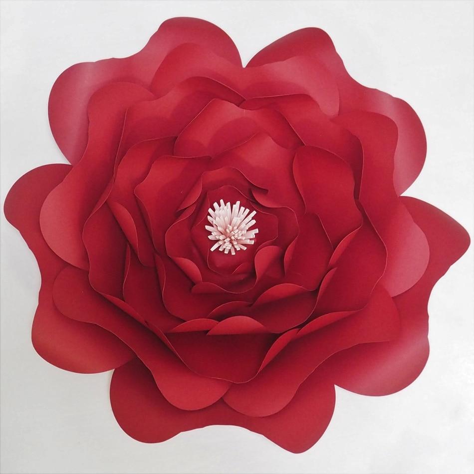 Video Tutorials Diy Giant Paper Flowers Flores Artificiales Fleur