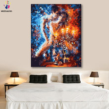 DIY colorings pictures by numbers with colors Abstract body art Nude painting picture drawing painting by numbers framed Home(China)