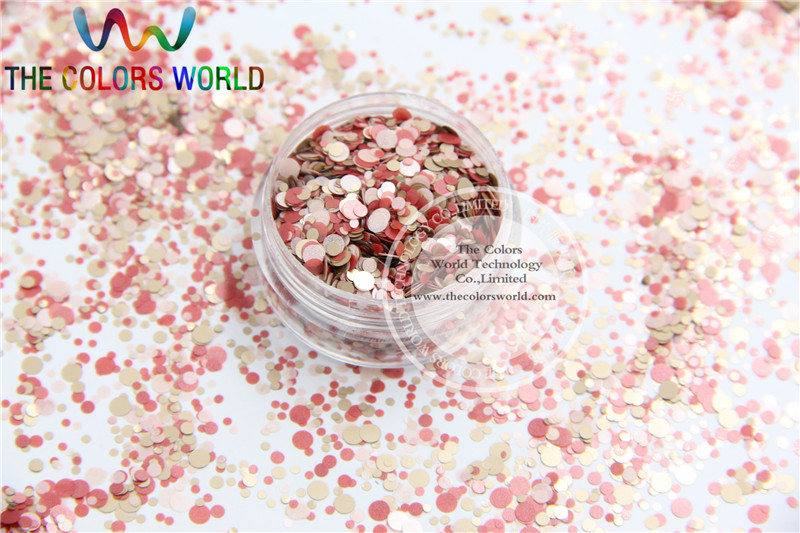 RMY-158  Mix  Colors round dot  shape  for Nail Art  and DIY supplies стоимость