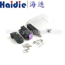Envío gratis 1set 39pin ecus, Conector de aluminio modificado shell macho coche caja de control generador control panel conector
