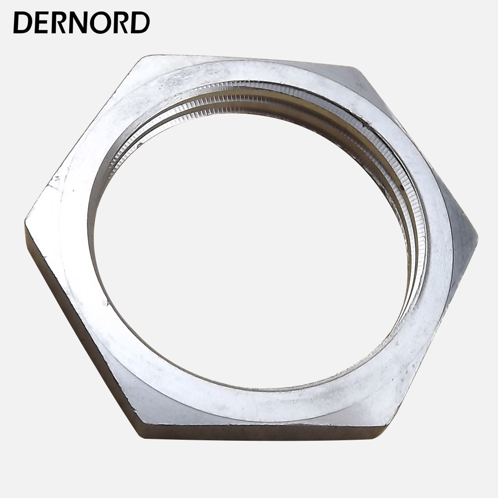 Stainless Steel 304 1 INCH NPT/BSP Locknut for Heating Element 1 1 2 dn40 male threaded stainless steel ss 304 pipe fittings 150mm length npt