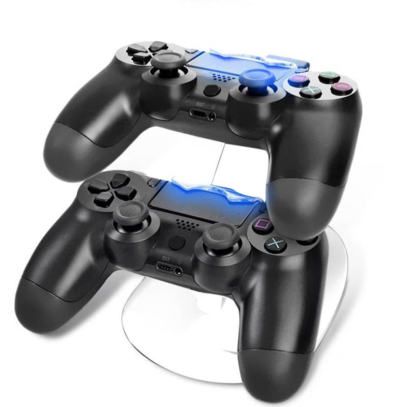 5 v USB Rapide Charging Dock Station Stand Chargeur Support pour Sony PS4 Mince PS4 Pro PlayStation 4 Mince Gamepad contrôleur