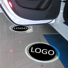 JingXiangFeng 2 pcs 5W Case For chery For lada Car Door Welcome Light Car LED Laser Logo Ghost Shadow Light Warning lights