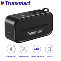 Tronsmart Element T2 Bluetooth 4 2 Outdoor Water Resistant Speaker Portable And Mini Speaker Black