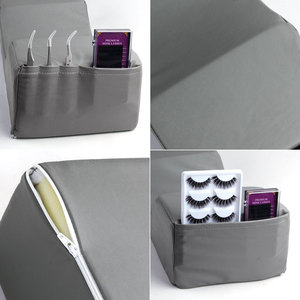 Image 4 - Eyelash Extension Pillow Memory Foam Neck Lash Pillow with Acrylic Shelf Organizer Stand Grafting Eyelash Salon Makeup Tools