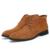 Homens Botas Quentes Moda de Qualidade Confortável Ankle Boot Sapatos de Inverno De Couro Dos Homens Casuais