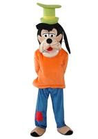 Взрослых Размеры плюшевые Гуфи собак и Плутон собака Маскоты костюмы Косплэй мультфильм платье для Хэллоуина вечерние события