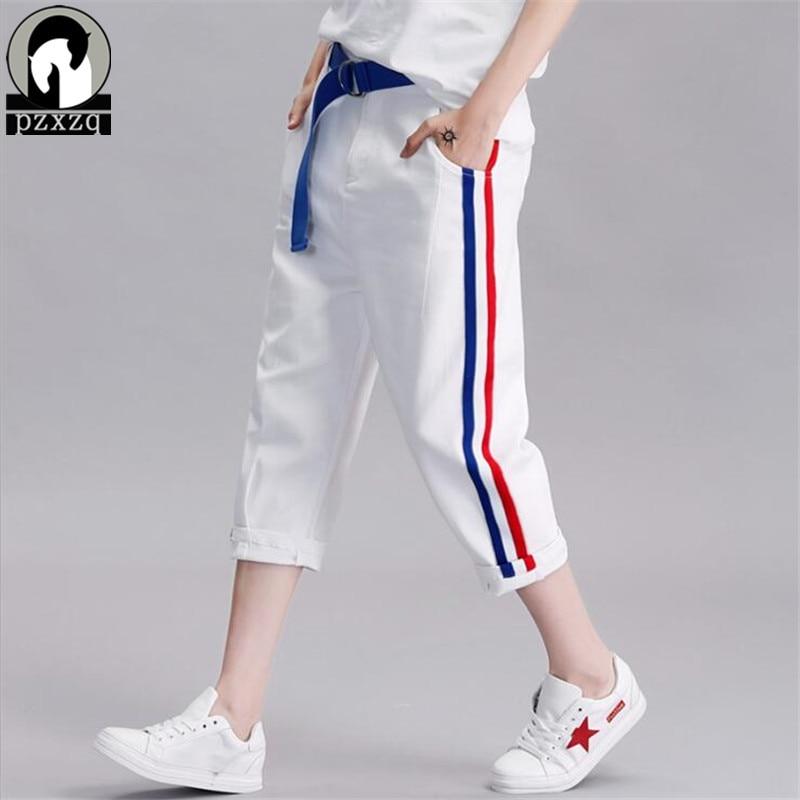 2019 Women White   Pants   &   Capris   Plus Size Women   Pants   Ladies Red stripe print Long   Pants   Casual Trousers Fashion Harem   Pants