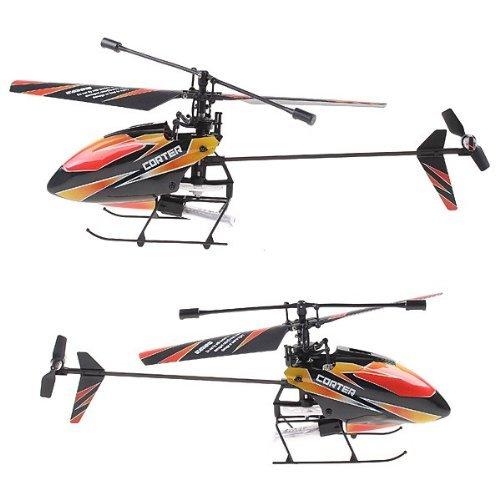 WLToys V911 Produk - 4CH 2.4 GHz Mini Radio Baling-Baling Tunggal Helikopter RC Gyro V911 RTF