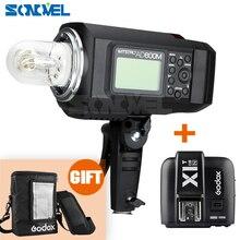 Godox AD600M 600W 2.4G 8700mAh Li-on Battery Portable Flash Strobe Mount + X1N Transmitter for Nikon D4 D5 D4s