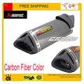50cc 100cc 125cc 150cc 200cc 250cc da motocicleta JOG RSZ gy6 tubo de escape TTR moto YBR silenciador silenciador CBR YZF acessórios