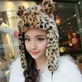 2016 winter fashion women's cap takes imitation rabbit fur hat winter hats women's hats Leather grass Lei Feng hat
