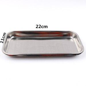 Image 3 - 1pc aço inoxidável bandeja de armazenamento comida prato frutas utensílios de mesa médico cirúrgica dental bandeja acessórios cozinha