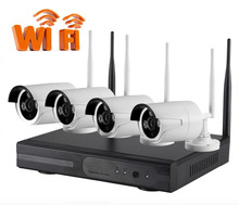 1.3MP Plug and Play Wireless NVR Kit P2P 720P HD Outdoor IR Night Vision Security IP Camera WIFI CCTV System