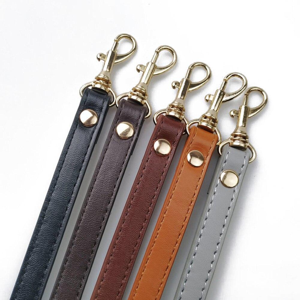 120cm DIY Women Bag Strap Crossbody Shoulder Replacement Handbag Handle Bag Strap Adjustable Solid PU Leather Candy Red Black