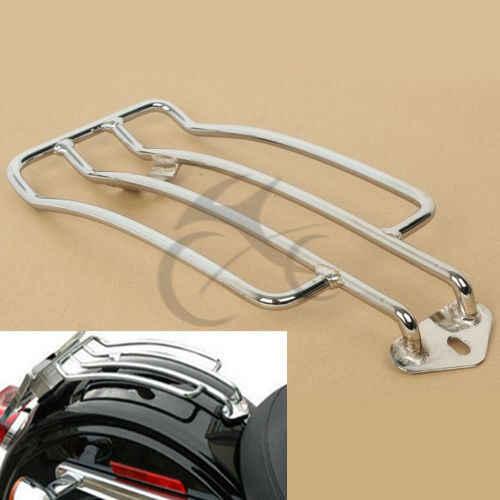 Отдельное сиденье мотоциклиста Чемодан полка-подставка стойка для Harley Sportster XL 883 1200 пользовательские 85-03