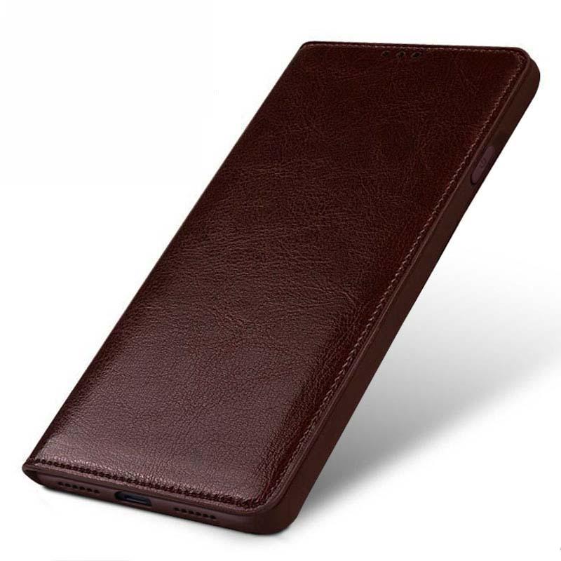 Di lusso Genuino Per Il Caso di iphone XS XS MAX Vibrazione del Cuoio della copertura di caso della protezione per il caso di iphone XR posteriore housing capa originale