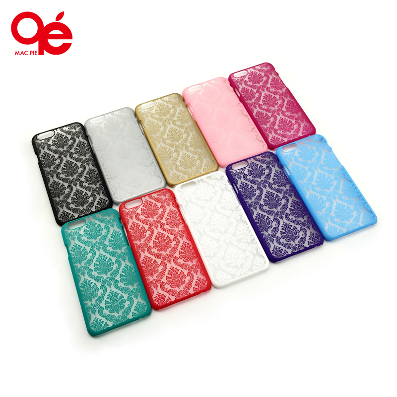 New Arrivals Luxury Damask Vintage Flower Pattern Phone Back Protect Case Cover Shell for IPhone 4