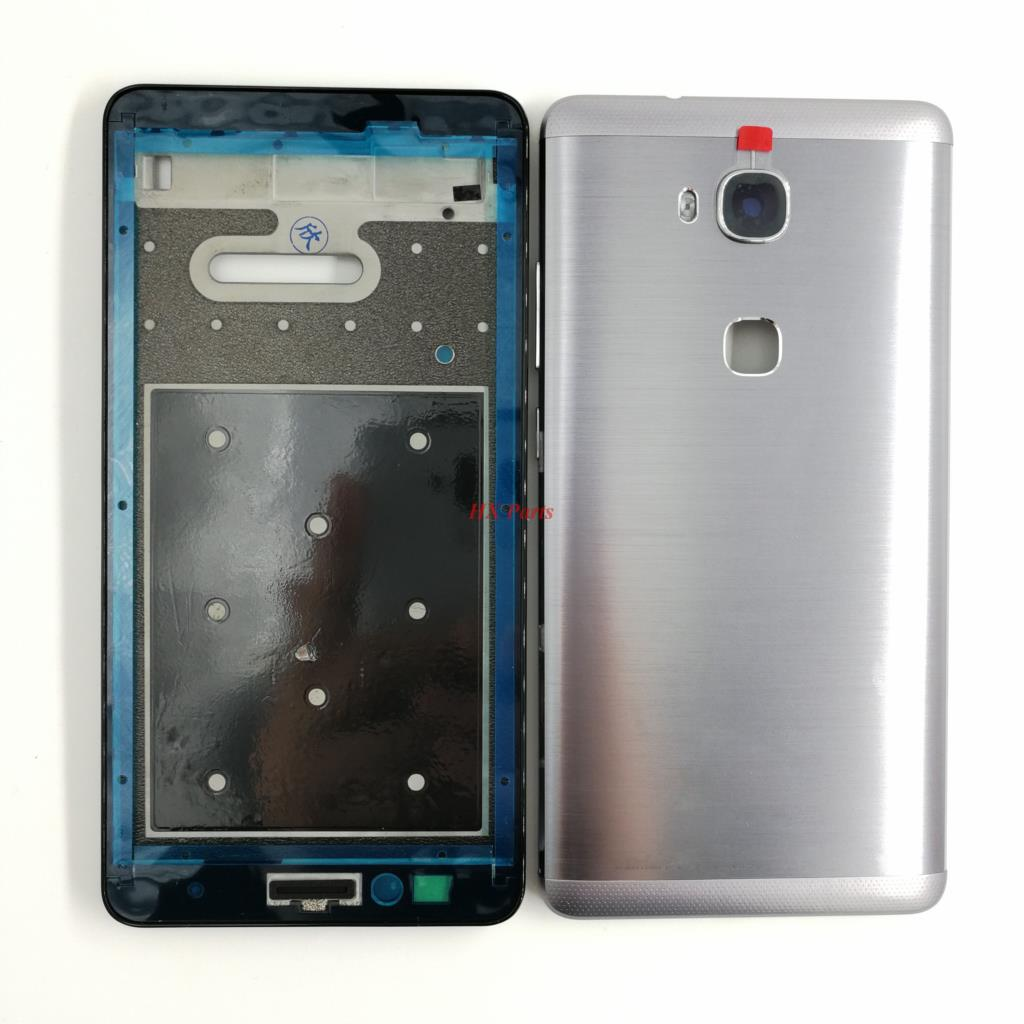nuovo di zecca 25f11 d3a01 US $10.3 |For Huawei Honor 5X X5 GR5 Original Complete Full Housing LCD  Front Frame+Back Battery Cover Replacement Parts-in Mobile Phone Housings &  ...