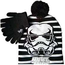 Вязанная шапка звездного Дарта Вейдера, штурмовика, модная мультяшная маска, шапочки, головные уборы для мужчин и женщин, зимняя теплая шапка Skullies, шапки в стиле хип-хоп