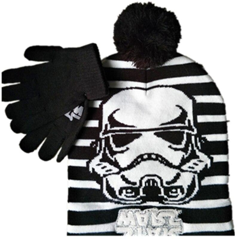 Estrela Darth Vader Stormtrooper Mascara Gorros Tampas De Malha