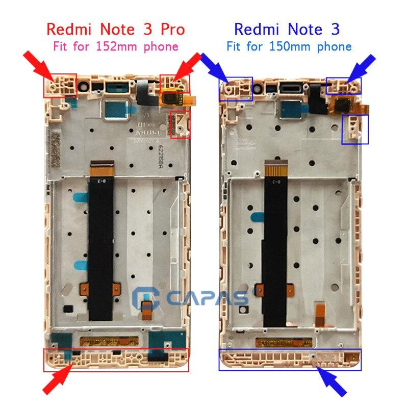 0c9fea32e90 AAA Para Xiaomi Redmi Nota Redmi 3 Pro Display LCD + Quadro Touch Screen  Painel Note3 Exibição Pro LCD Digitador completa de Peças em LCDs Do  Telefone móvel ...
