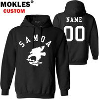 AMERICAN SAMOA Pullover Logo Custom Name Number Autumn Winter As Jersey Keep Warm Hat Asm Flag