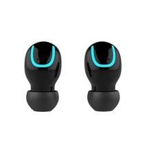 TWS TWS Chamadas fone de Ouvido Sem Fio Fone de Ouvido Bluetooth Portátil 5.0 Bilateral Invisible Earbud Com Microfone para o Telefone de Carregamento da Caixa
