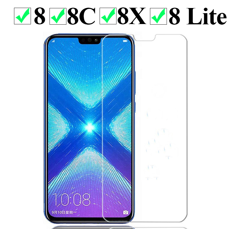 For Honor 8 X Max Lite Pro 8lite 8pro C Screen Protector Protect Glas Protection 9h Tempered Glass For Huawei Honor 8x 8c Glass
