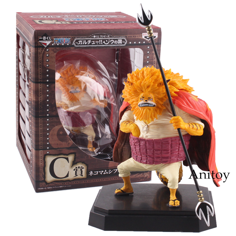 One Piece Anime Nekomamushi PVC Action Figure Ruler of Night Model Toy Gift 15cm anime cartoon one piece sabo 25cm action figure collection pvc model children toy gift
