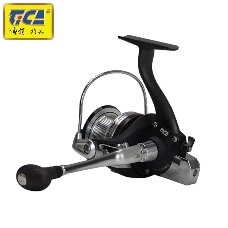 Rapport de vitesse TICA 7BB + 1RB 5.2: 1 moulinet de pêche en rotation petite roue distante avec poignée échangeable - 5